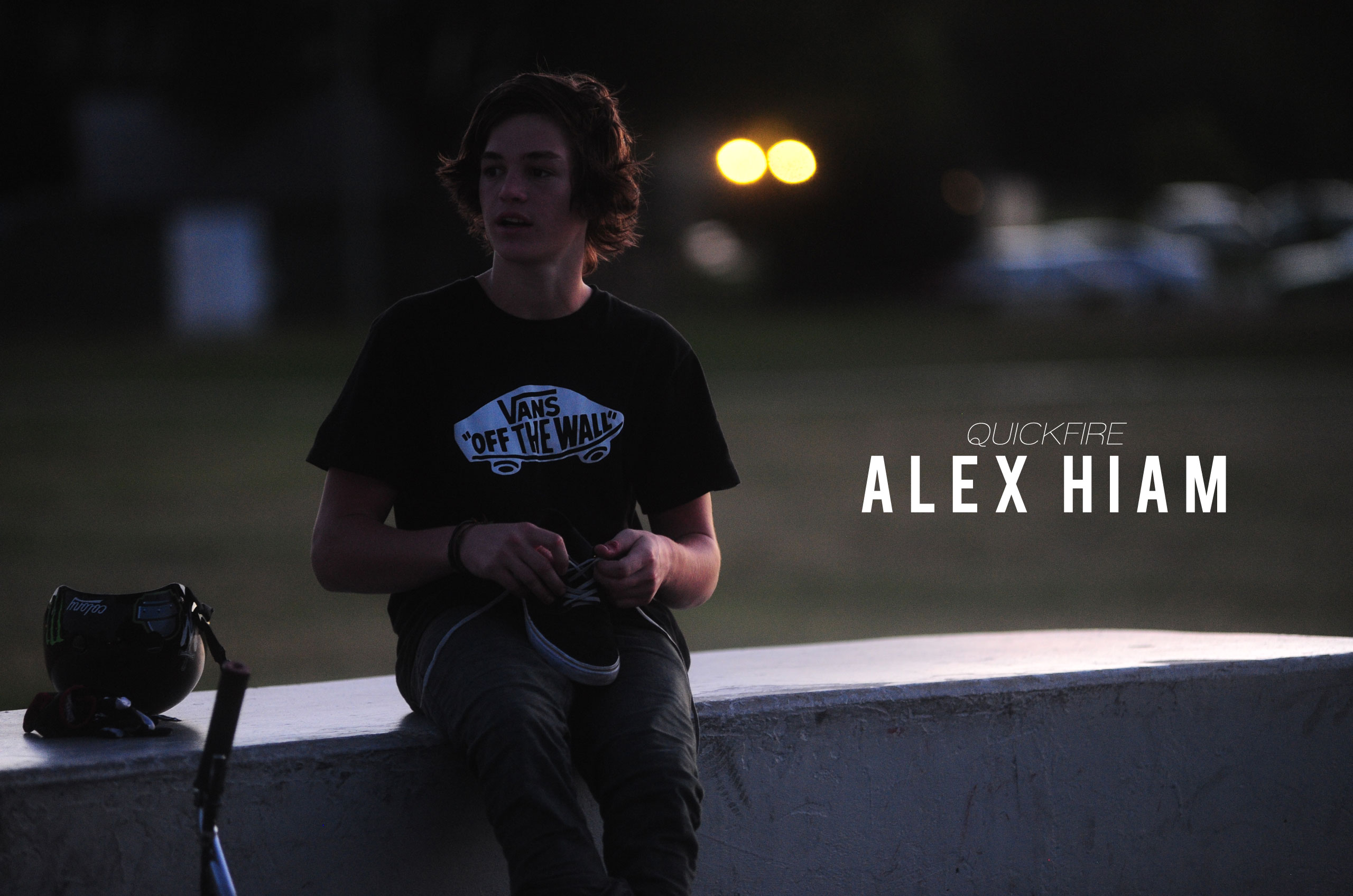Quickfire – Alex Hiam