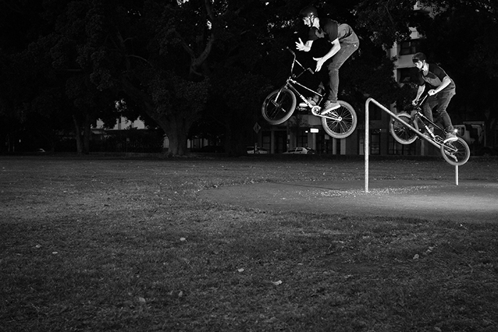 Chris Whyte - Crank to Barspin (B&W)
