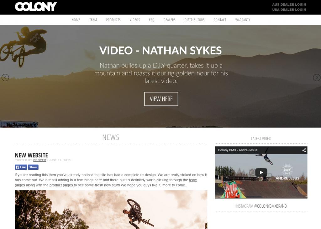 Colony Website