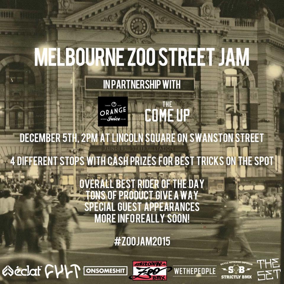 Melbourne Zoo Bmx Street Jam