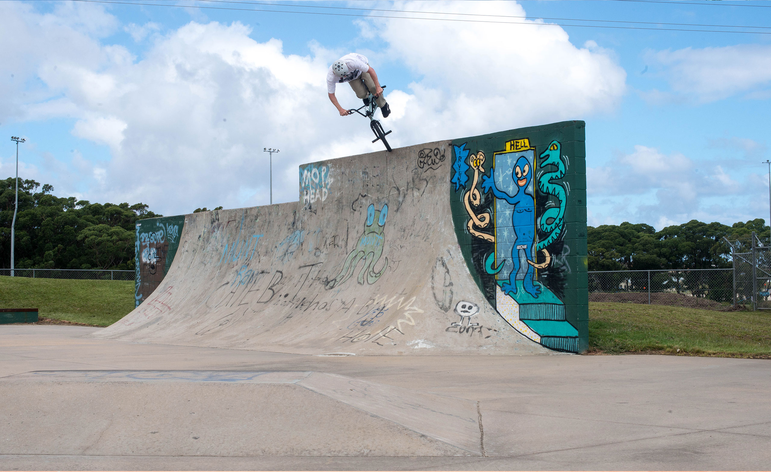 I told Clint we would shoot this photo well before the trip even started, Ulladulla vert wall had his name all over it