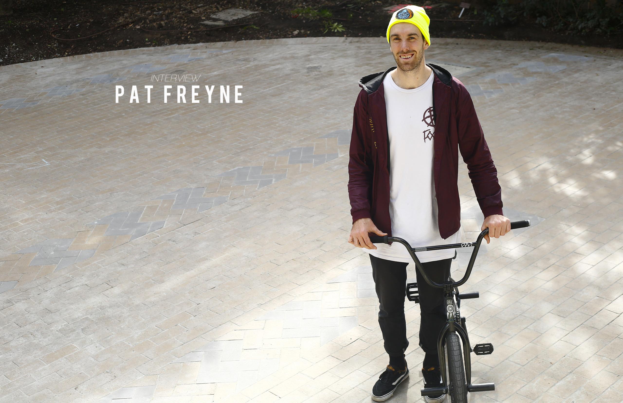 Pat Freyne interview