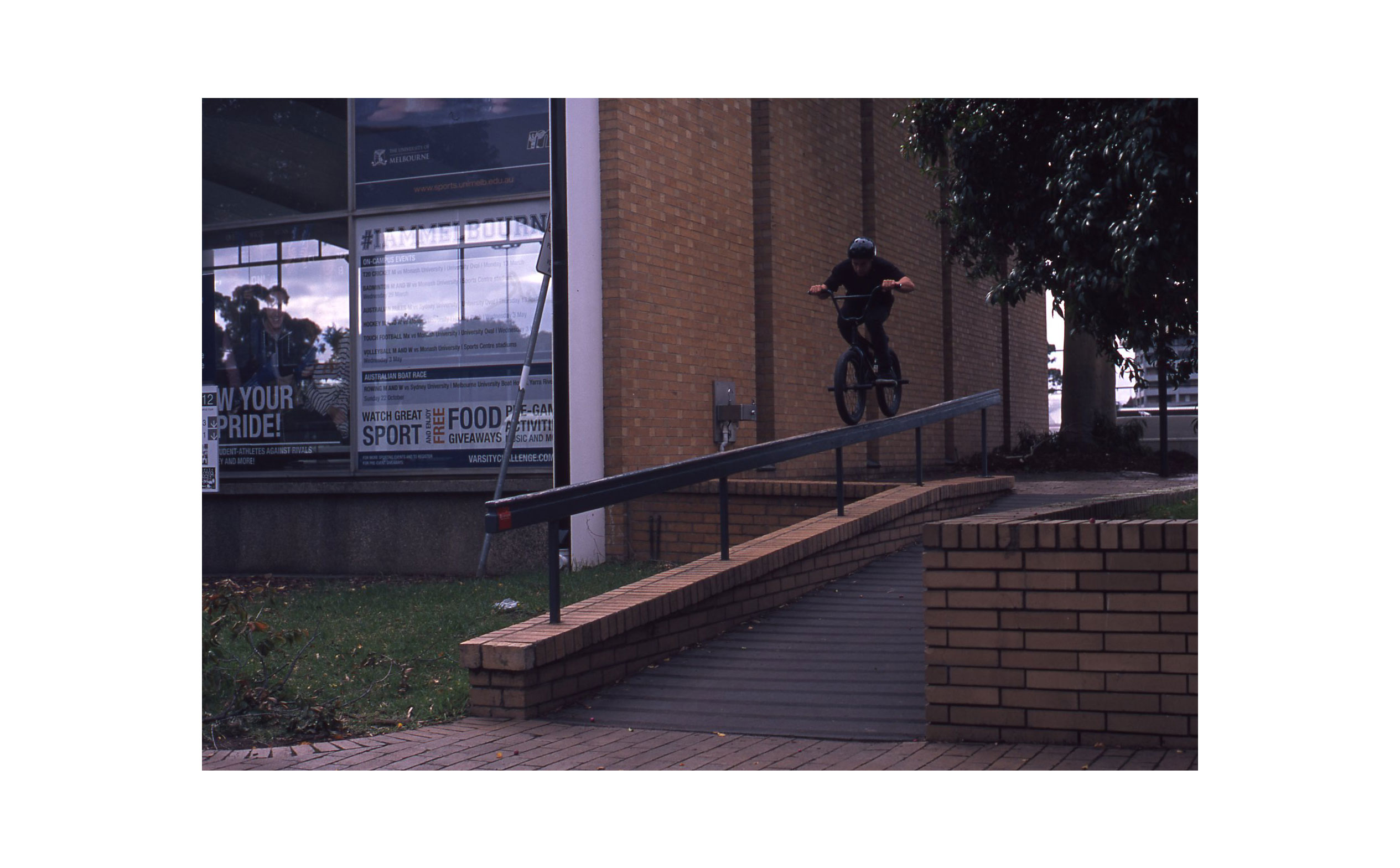 Alex Bolton - Wheels while filming for his Alive & Well DVD part.