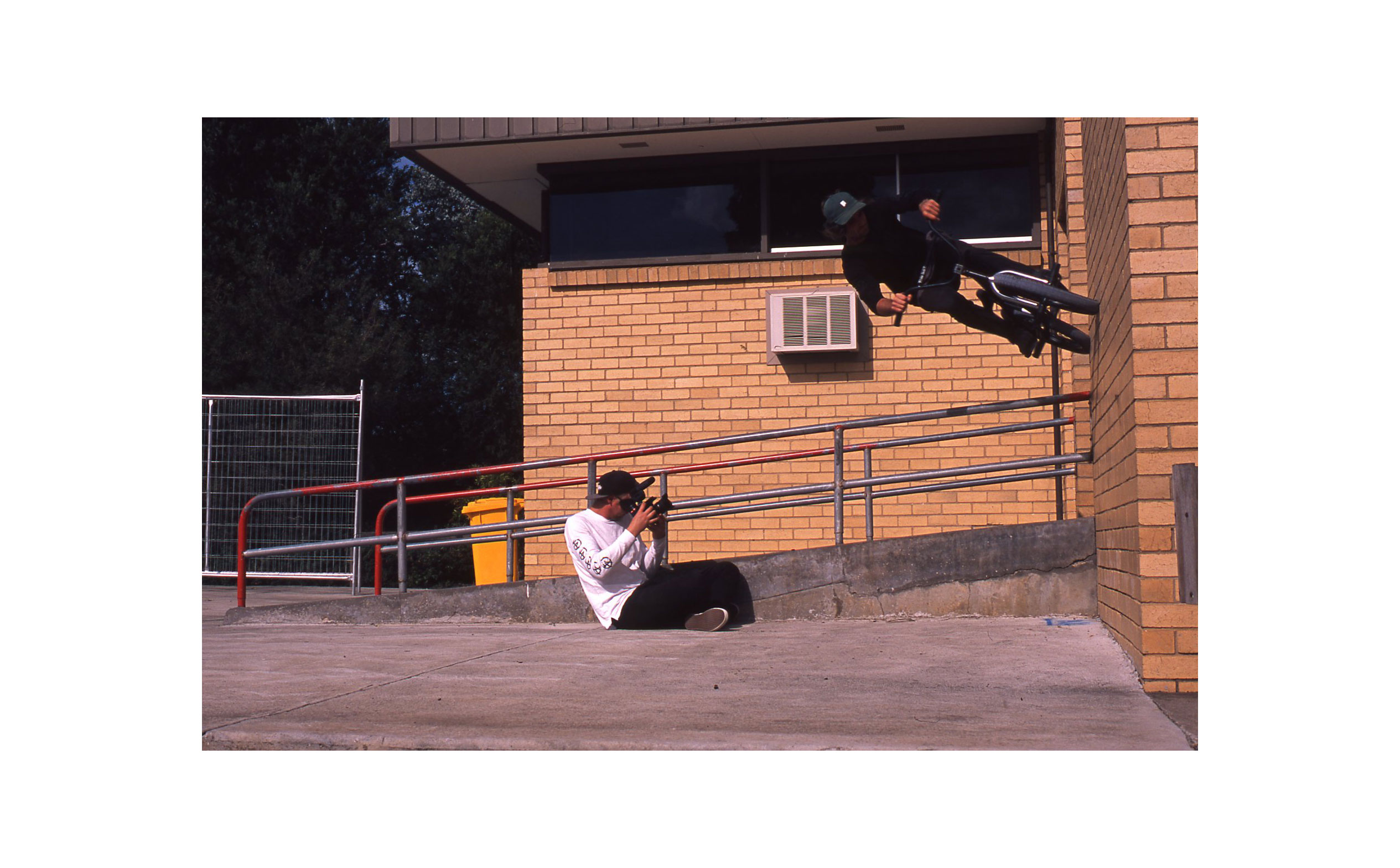 Sean Falkenstein - Seany riding on walls for his Alive & Well part.