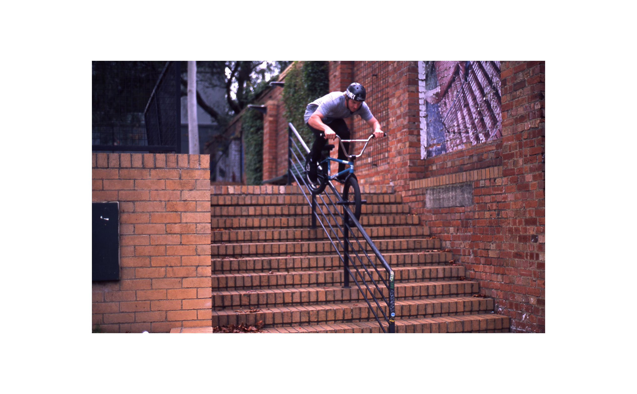 Jack Kelly - JK feeling out the rail just before he went in for one of his Alive & Well bangers.
