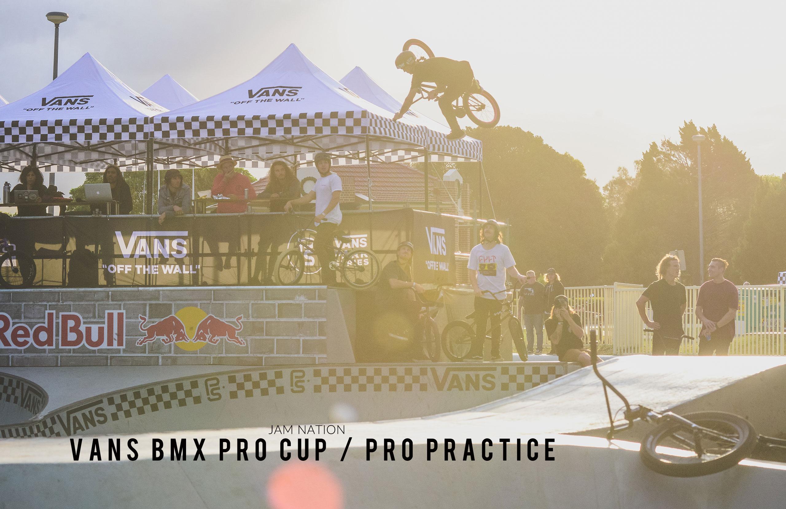 Vans BMX Pro Cup – Pro Practice